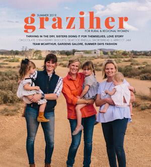 Claire-Dunne-Graziher-magazine-cover Capricorn Coast Writers Festival